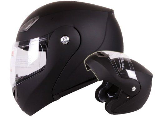 Modular Flip-up Motorcycle Helmet Matte Flat Black DOT Approved (Large) $39.95    dont even have a motorcycle...... ;/