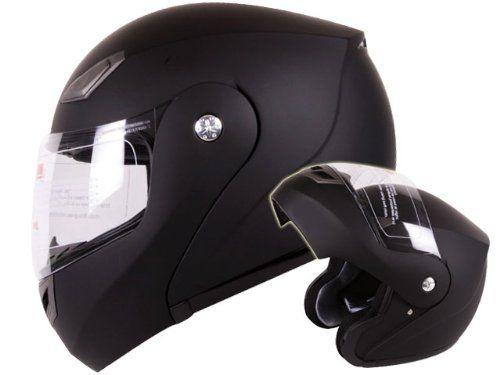 Modular Flip-up Motorcycle Helmet Matte Flat Black DOT Approved (Large) $39.95    dont even have a motorcycle...... ;/