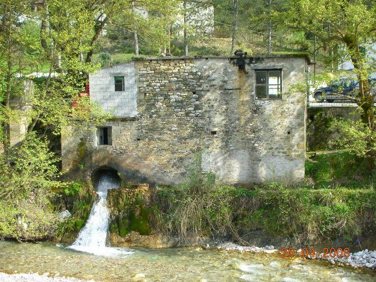 Ο παλιός νερόμυλος Photo from Kato Potamia in Evritania | Greece.com