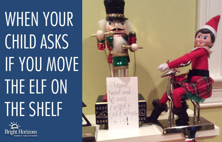 When Your Child Asks If You Move the Elf on the Shelf - What to do if you've been caught red-handed this holiday season.