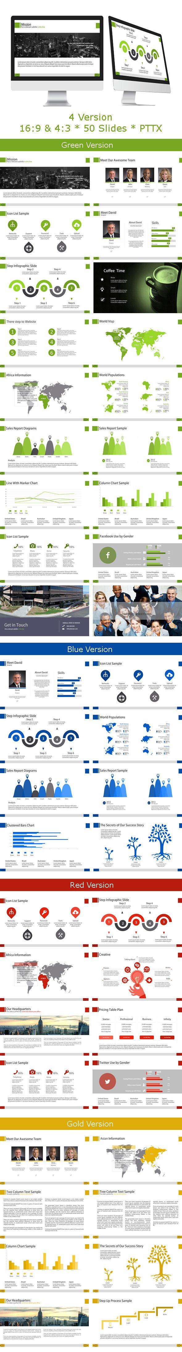 Ptl PowerPoint Template (Powerpoint Templates) demo1