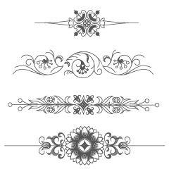 2650 Vintage Vectors Ornaments (& Frames & Illustrations), Retro Graphics - Free Downloads | Vectorian