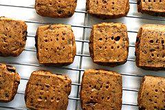 Espresso-Chocolate Shortbread Cookies