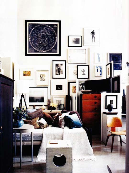 //: Livingroom, Interiors, Living Room, Space, Gallery Wall, Design, Art Wall, Bedroom