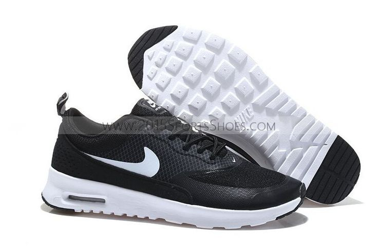 2015 Newest Nike Air Max 90 87 HYP PRM Womens Shoes Online Black White
