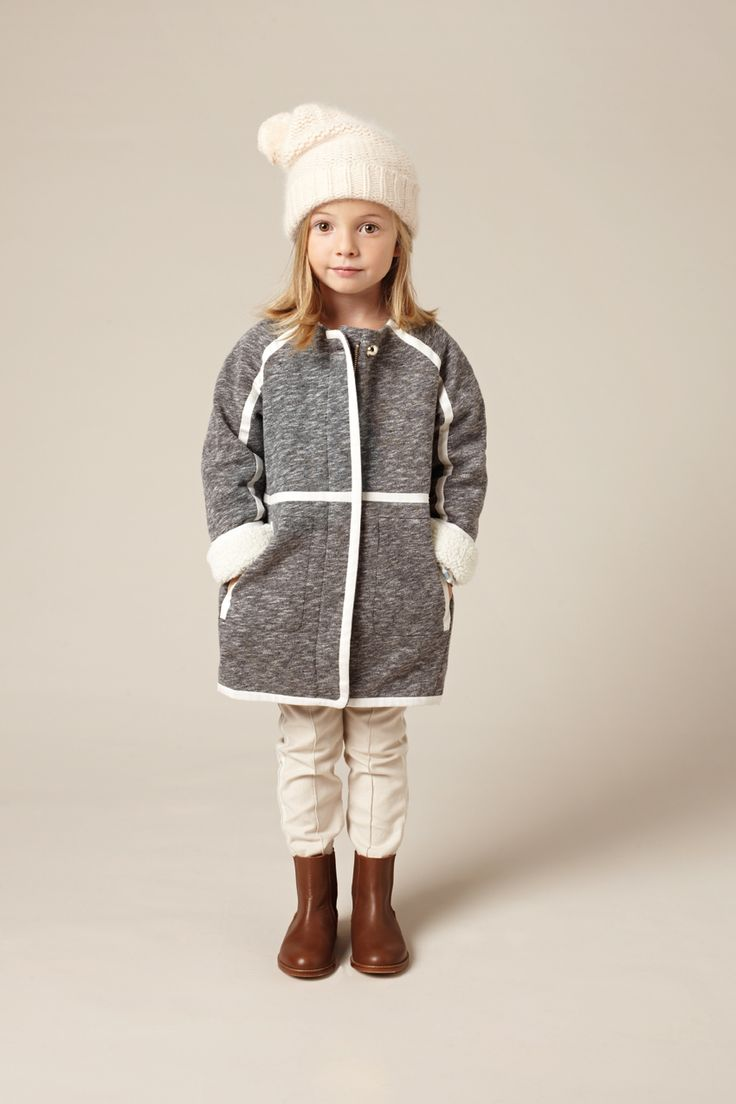 Super chic mini me coat from Chloe girls fashion for fall 2015