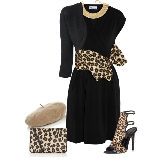 black amp leopard pinterest red valentino dress
