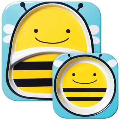 Skip Hop Zoo Bee Plate  http://www.applepiebaby.it/Per-la-pappa/Piatti-e-ciotole/Piatto-Zoo-Ape-Skip-Hop.html