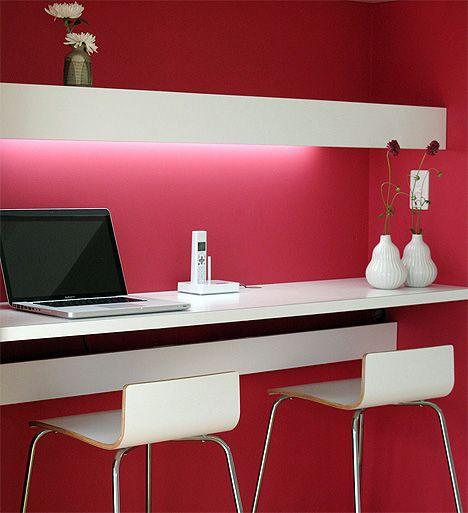 Mini escritorio.