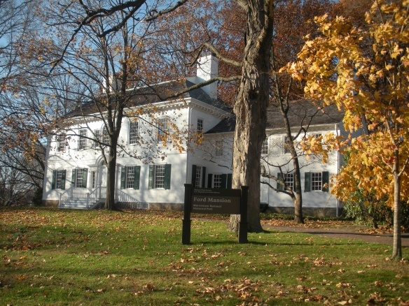 The Ford Mansion in Morristown, New Jersey, served as George Washington's Revolutionary War headquarters during the winter of 1779-1780, close...