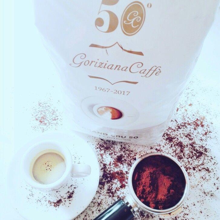 Grand Cru 50 by Goriziana Caffe...I love my 50'...i love coffee make it good! Coffee with passion...with style.