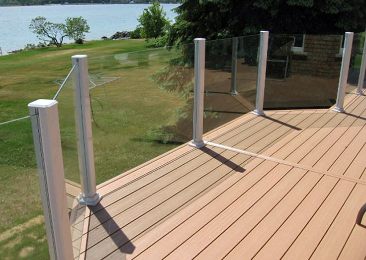 Glass Railing system by www.KBSunspaces.com