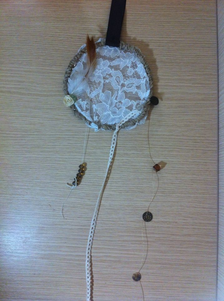 Handmade dream catcher #myhope #crafts #dreamcatcher #vintage #rustic