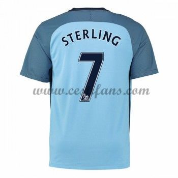 Manchester City Fotbalové Dresy 2016-17 Sterling 7 Domáci Dres