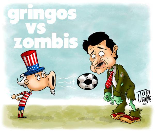 Respecto al juego de hoy México - EE.UU.