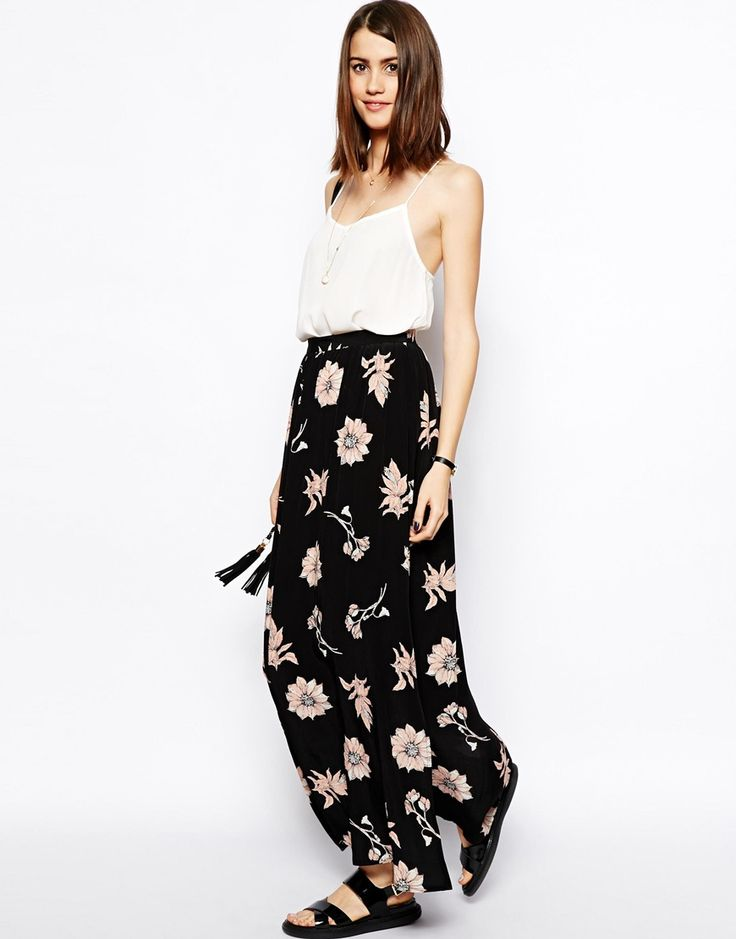 46 best floral maxi skirt images on Pinterest | Floral maxi skirts ...