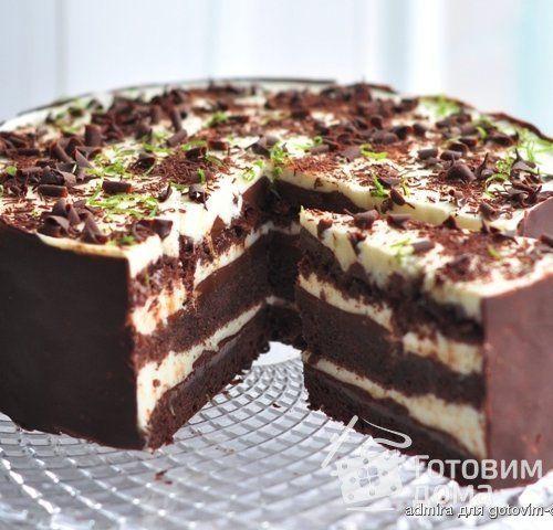 """Торт """" Шоко-лайм """""""