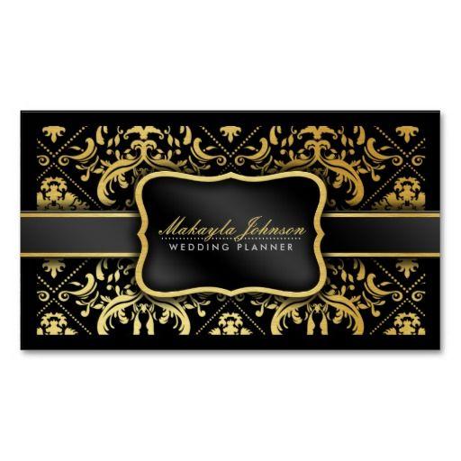 damask business cards