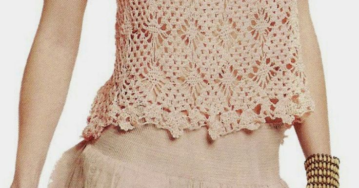 Patrones Crochet: Top princesa que enamora en crochet