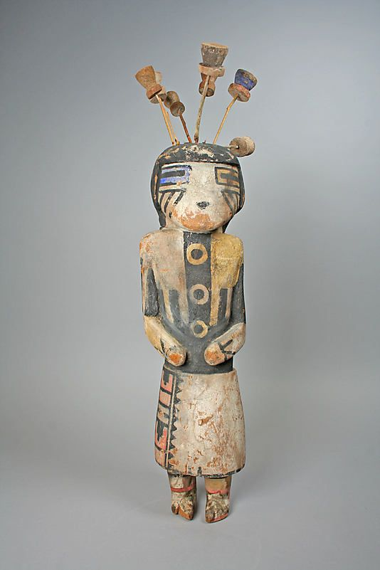 Katsina (Lenang or Lenya) Date: 20th century Geography: United States, Arizona Culture: Hopi