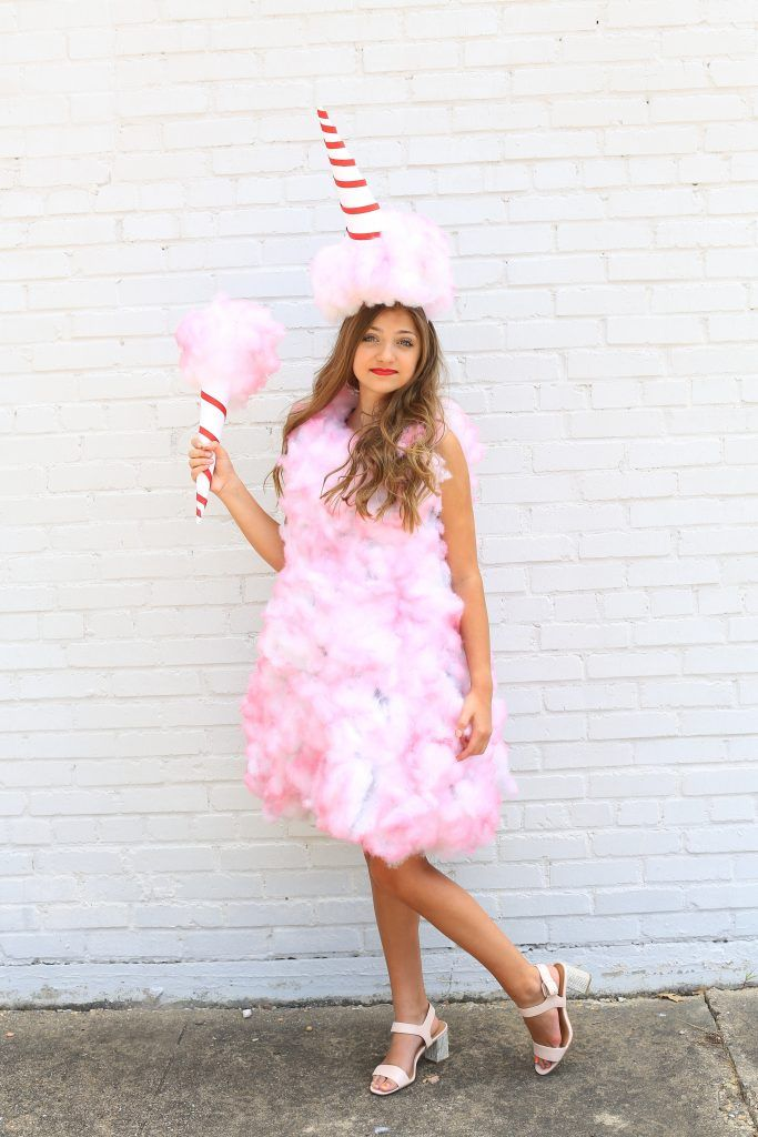 Best 25 cotton candy costumes ideas on pinterest cotton Homemade halloween costumes for 10 year olds