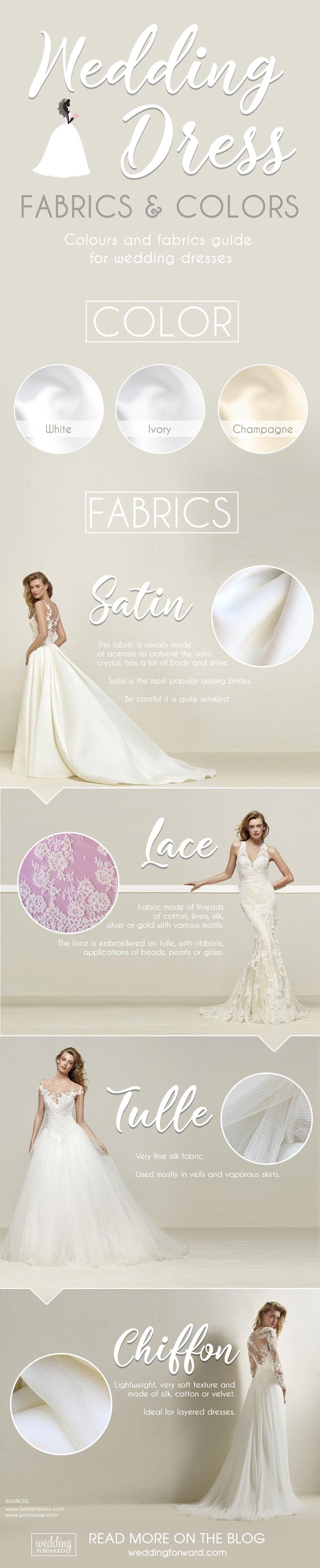 Best 25 wedding dress fabric ideas on pinterest next dresses 12 wedding dress infographics to make your shopping easier ombrellifo Choice Image