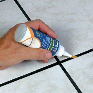 Grout sealant to keep grout clean