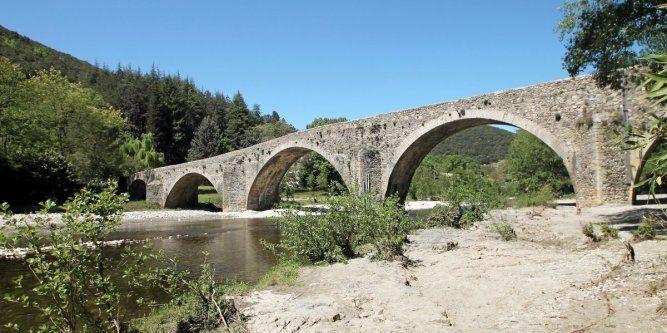 Balade dans le Gard vers le pont des Camisards à Mialet
