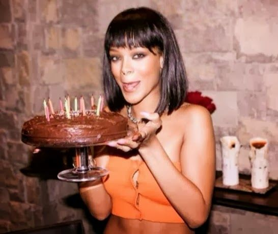 Searchlight Nigeria: Photos: Rihanna's 26th Birthday Party