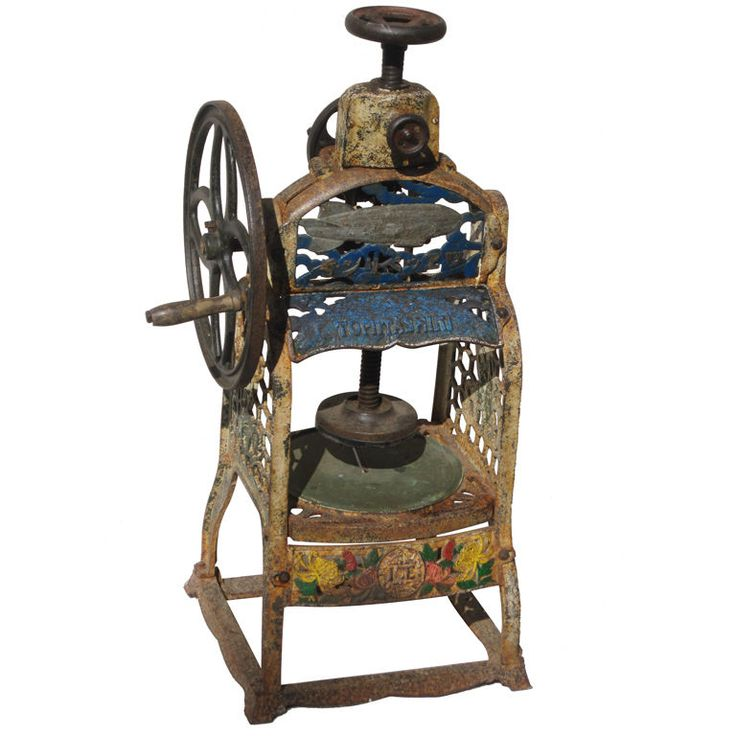 antique shaver machine