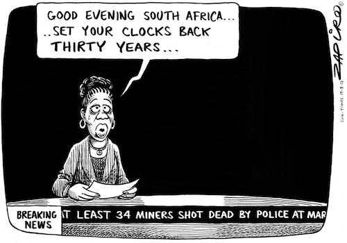120819st - No difference between Lonmin tragedy of 2012 and the Sharpville tragedy of 1960