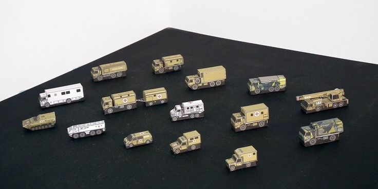 Mikromodele współczesnych pojazdów armii Republiki Czeskiej 1:250 Pojazdy sanitarne, medyczne i specjalistyczne http://mojeminiatury.waw.pl/mikromodele-wspolczesnych-pojazdow-armii-republiki-czeskiej-1250/