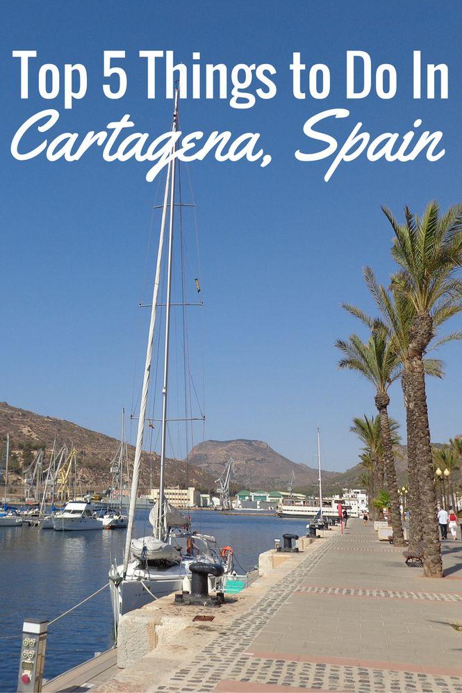 Things to Do Cartagena Spain...  Looks like it's good just to walk around..