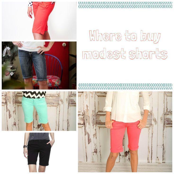 Bezugsquellen Modest Shorts – Beauty | Something Splendid – #BeautySomething #Bu…