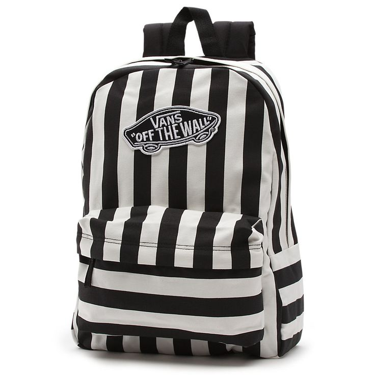 Stripe Realm Backpack [NZ0WHT] - $39.99 : Vans Shop, Vans Shop in California