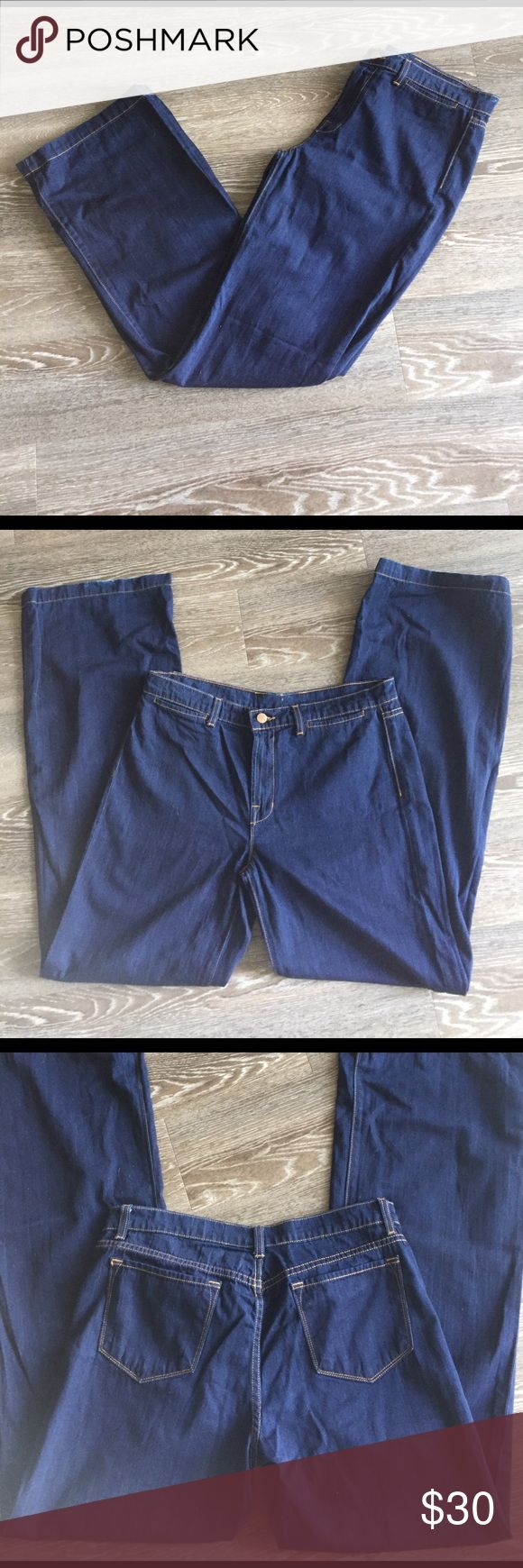 j brand In great barely used condition. Dark wash thin fabric jeans. 34 inseam J Brand Jeans