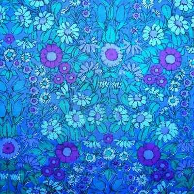 Daisy Chain by Pat Albeck for Jonelle (blue colourway)