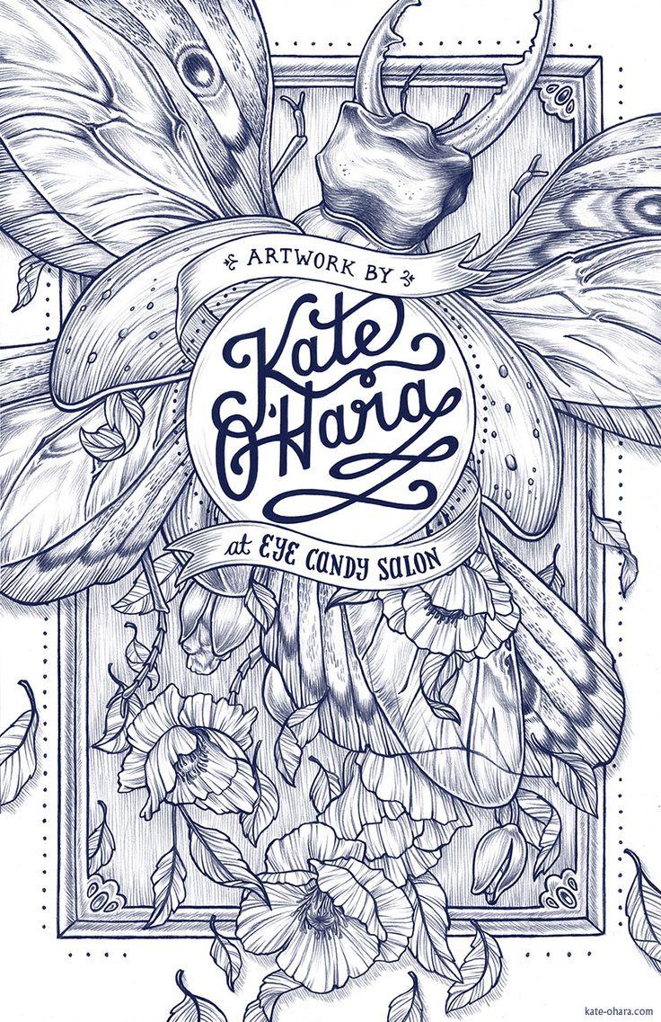 EYE CANDY - Kate O'Hara Illustration