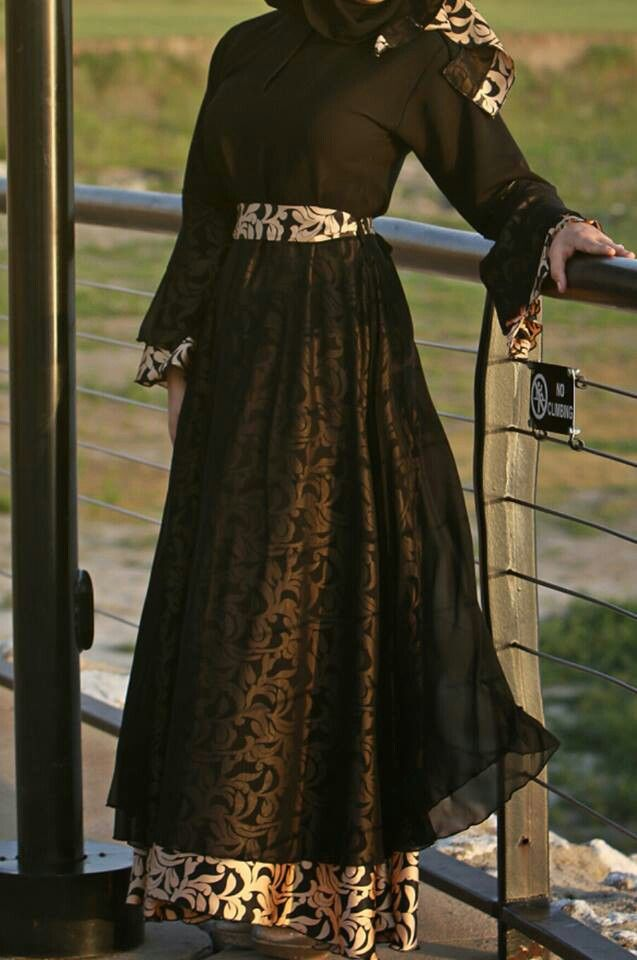 Gorgeous abaya for special occassion