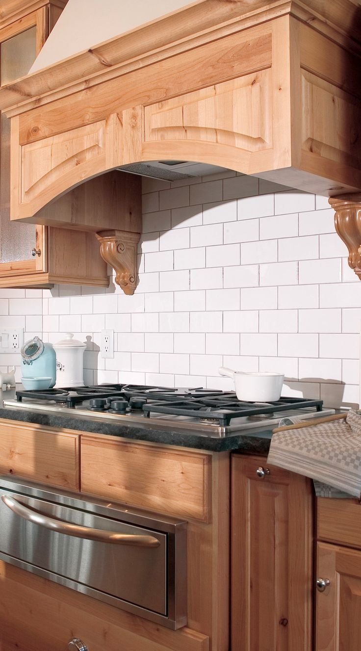 144 best kitchen updating ideas images on pinterest for White subway tile backsplash ideas