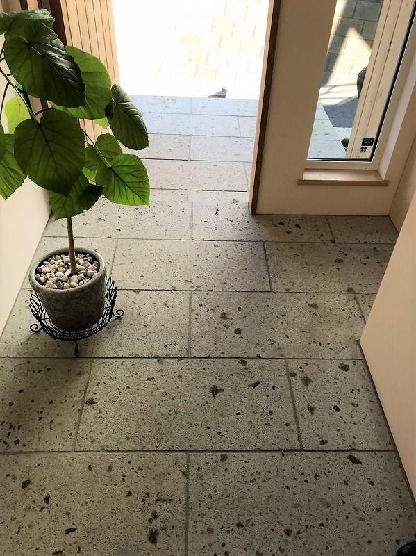 ENJOYWORKS/エンジョイワークス/entrance/玄関/玄関ホール/タイル/tile/door/ドア