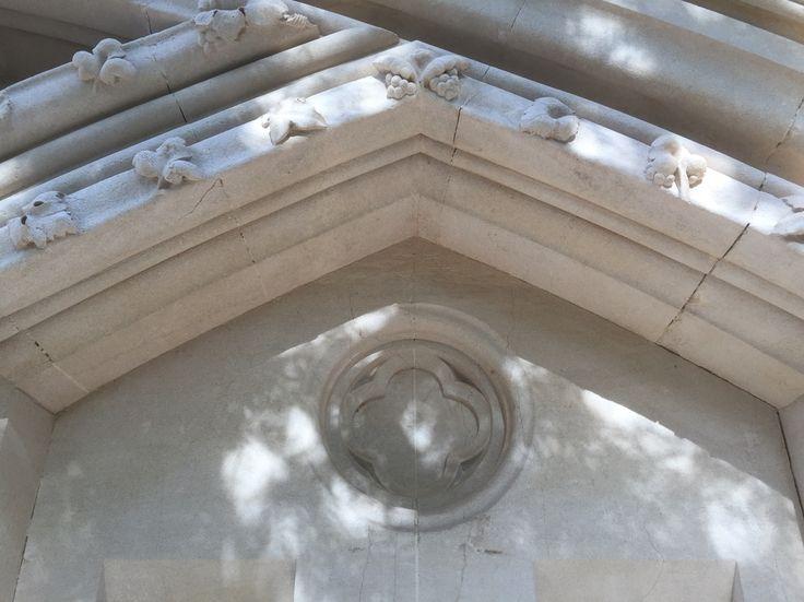 Emblem in stone
