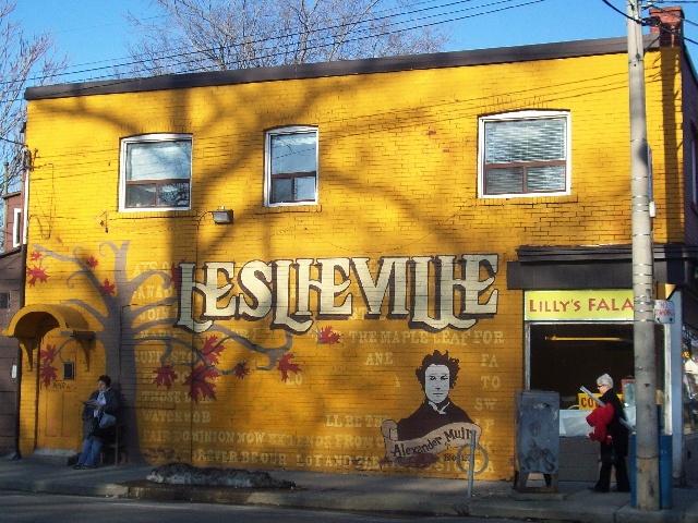 Leslieville Toronto
