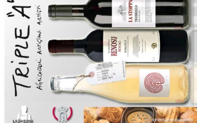 Degustazione vini Triple A vini naturali Orientamento al Vino #degustazionevininaturali