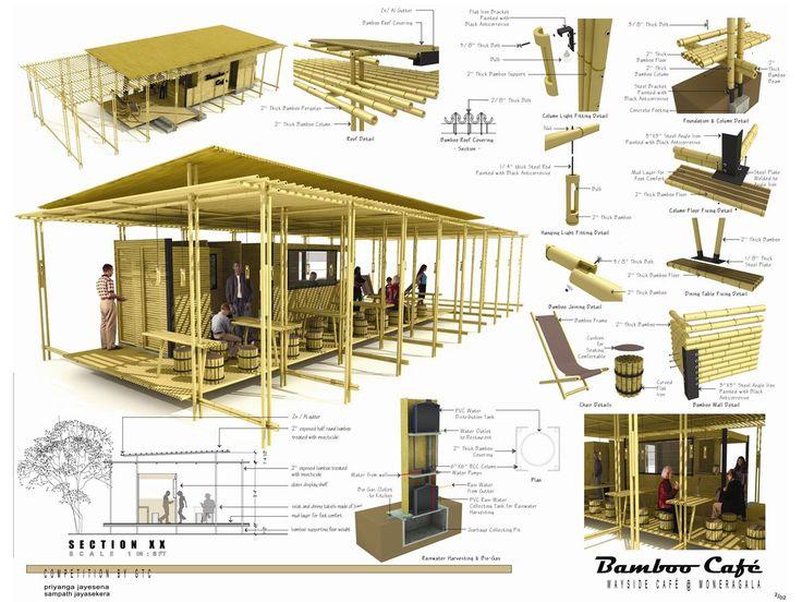 Construção com bambú