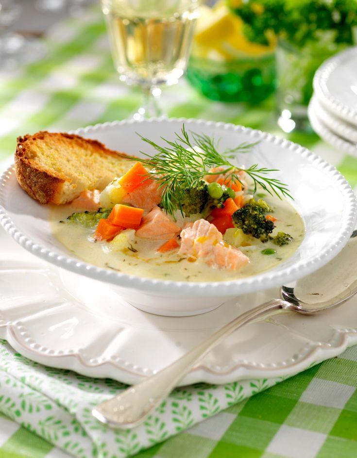 Smakrik fisksoppa
