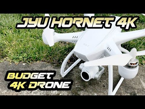 Full Review and flight test of the revamped version of the JYU Hornet. There are a few versions of this quad available. I got the Aerial 4K Edition. The quality for the price is not too bad. I was impressed with how stable and smooth it flies. The video in 1080 at 60fps did surprisingly well...