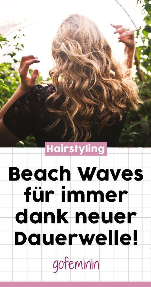 Beach Waves Fans aufgepasst: So halten die soften Locken für immer! #beachwaves #hairstyling #locken #dauerwelle