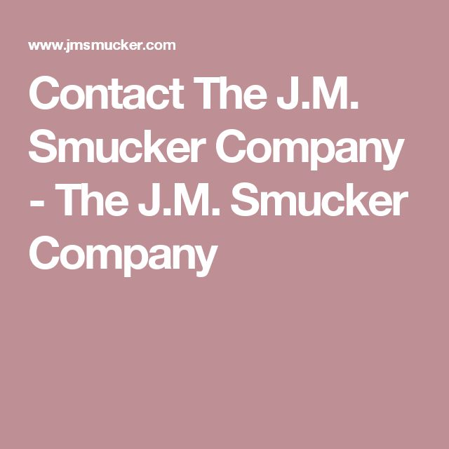the jm smucker company essay example Essay examples are of great value for students who want to complete their assignments timely and efficiently if you are a student in the university, your first stop in the quest for research paper examples will be the campus library where you can get to view the sample essays of lecturers and other.