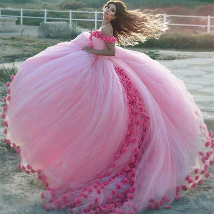 Красивые картинки с розовыми платьями